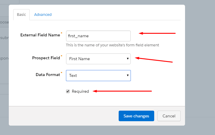 Creating Salesforce subscription form