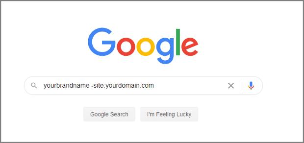 Google search bar shows query